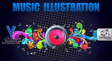 Gratis musik Illustration