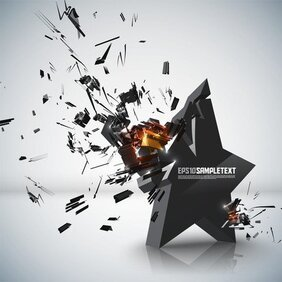Explosive Threedimensional Graphics 01