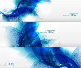 Free vector banner dynamic trend banner
