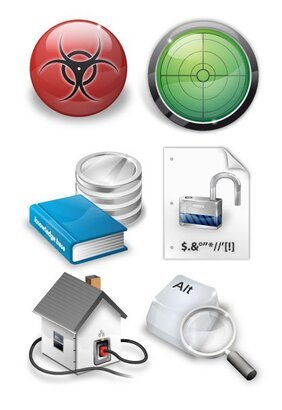 Security icon set 9