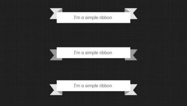Simple Ribbons