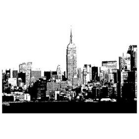 NEW YORK CITY SKYLINE VECTOR.eps