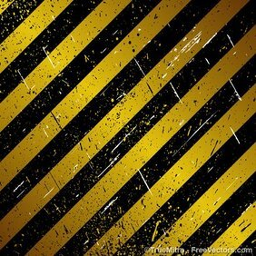 Grunge Striped Metallic Background