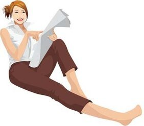 Sit girl position vector 15
