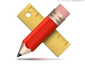 Drawing tools icon (PSD)