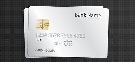 Credit Card PSD Template