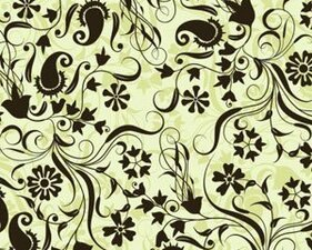 Stock background floral pattern