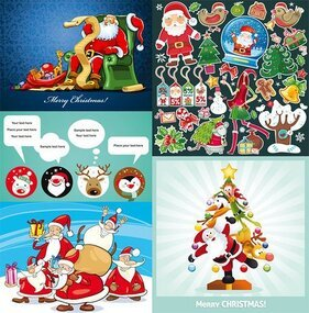 Several cute Christmas theme