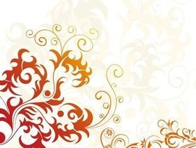 Floral Background artistico