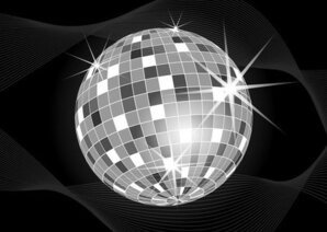 Disco Ball Vector Art