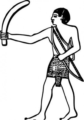 Egyptian Boomerang