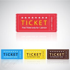 Vector Cinema Ticket
