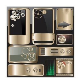 exquisite metal icon 1