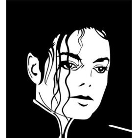 MICHAEL JACKSON VECTOR ILLUSTRATION.eps