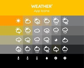 Forecast Weather Icons