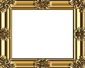 Antique Gold Frame 03