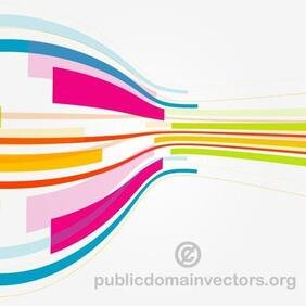 COLORFUL STRIPES VECTOR GRAPHICS.eps