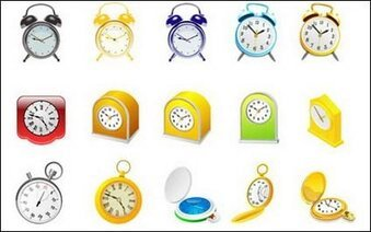 Alarm clock, clock and stopwatch
