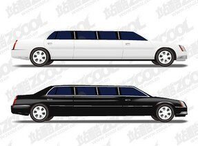 Long-wheelbase Luxury Sedan Vector Vector Cars Longer Vehicles Cars