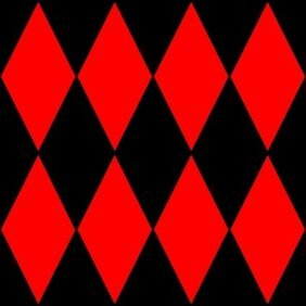 Diamond Harlequin 2 Pattern