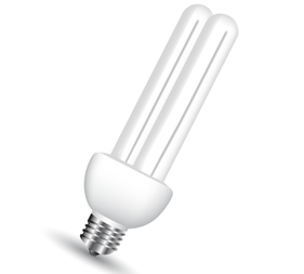 Energy Saving Light Bulb Vector Free