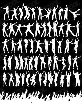 Dance moves were a few dozen silhouette