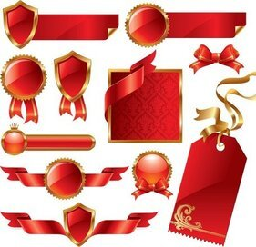 Red Ribbon Theme