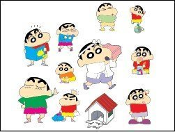 Vector Crayon Shin-chan Series 6 [Concluded]