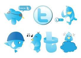 Twitter Graphics Set