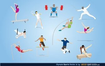 Olympic Sports Vector Art