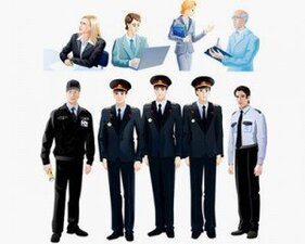 Stock Illustrations People-Set