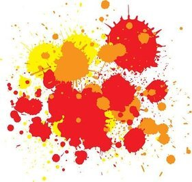 Free Vector - Splats and Hatchings