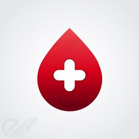 Free vector Blood drop