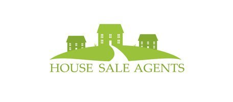 House Real Estate Community Logotype