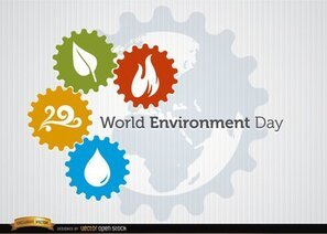 World Environment Day Four Elements