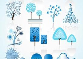 Winter Tree Vectors