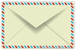 Retro Envelope