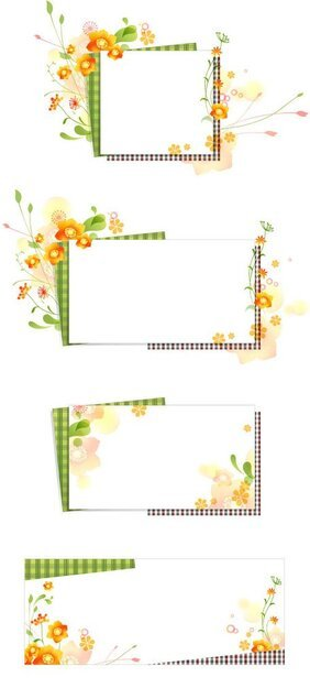 Romantic Flower Frames