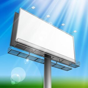 Outdoor Advertising Billboard Model 04