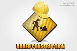 Under construction icon PSD