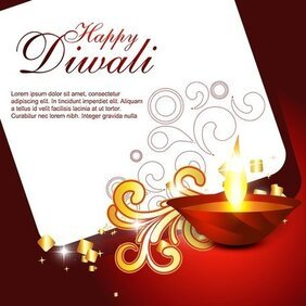 Beautiful Diwali Cards 06