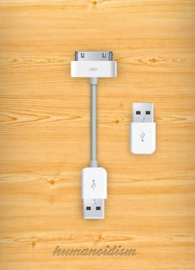 Apple laddare USB