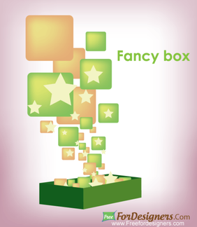 Free Vectors Fancy Box