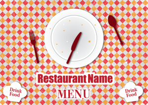 Free Vector Retro Restaurant Menu Design