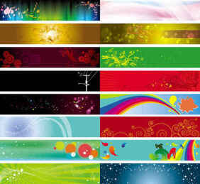banner background Vector templates
