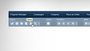 Toolbar and Menu Template