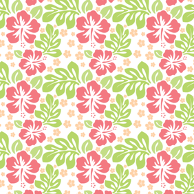 Free Flower Seamless Pattern