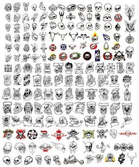 171 models and all kinds of skull