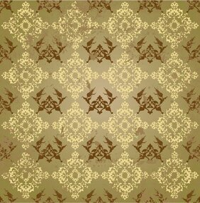 The trend of the background of classical pattern vector mate
