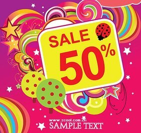 Vector material discount sales trends